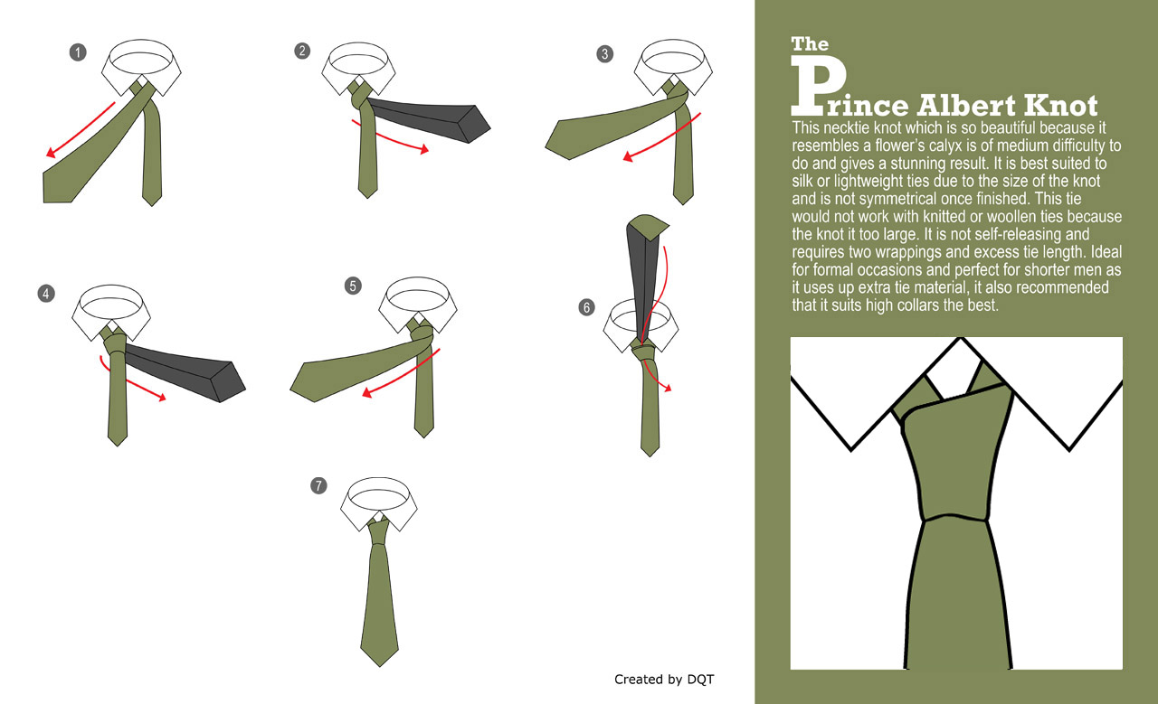 How To Tie a Prince Albert Knot (16 of 21) by DQT