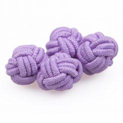 Lilac Knot Cufflinks