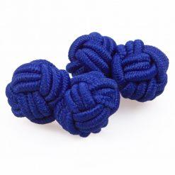 Royal Blue Knot Cufflinks