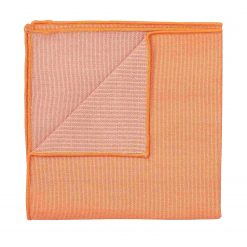 Light Orange Ottoman Wool Handkerchief / Pocket Square