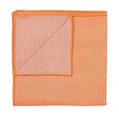 Light Orange Ottoman Wool Pocket Square