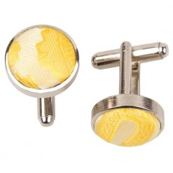 Gold Paisley Cufflinks