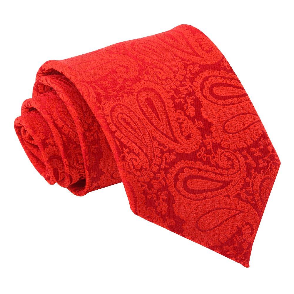 2cc1df7b422d2 Red Paisley Classic Tie