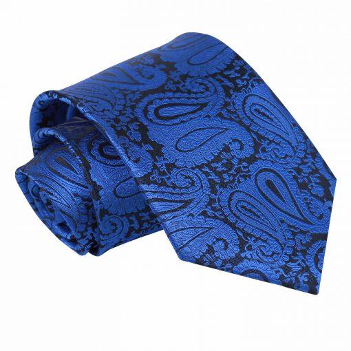 Royal Blue Paisley Classic Tie