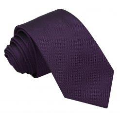 Cadbury Purple Panama Silk Slim Tie