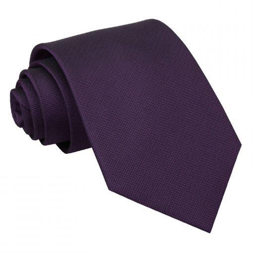 Cadbury Purple Panama Silk Classic Tie