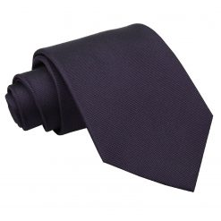 Dark Purple Panama Silk Classic Tie