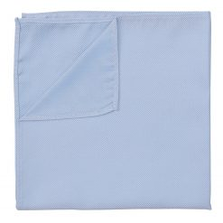 Light Blue Panama Silk Handkerchief / Pocket Square