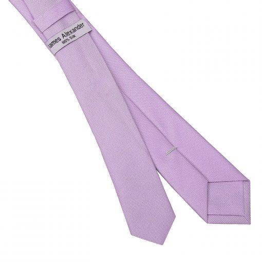 Lilac Panama Silk Skinny Tie