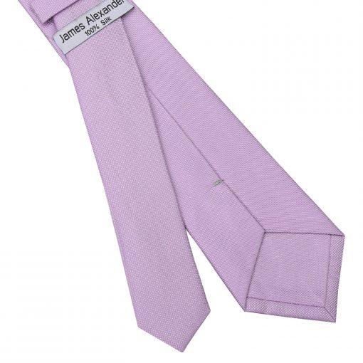Lilac Panama Silk Slim Tie