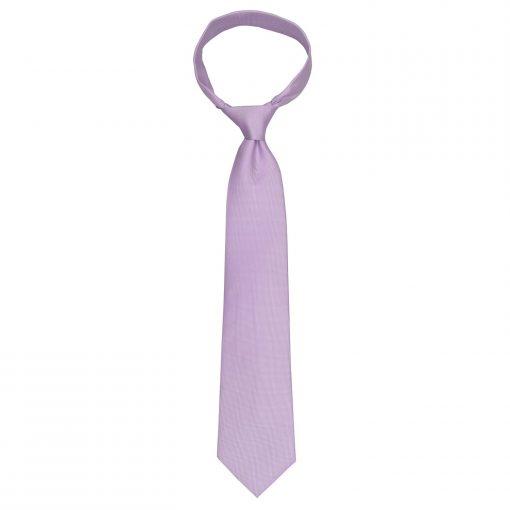 Lilac Panama Silk Classic Tie