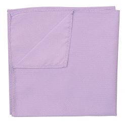 Lilac Panama Silk Handkerchief / Pocket Square
