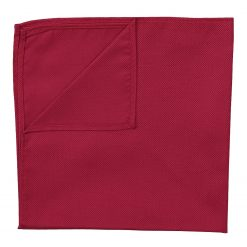 Tango Red Panama Silk Handkerchief / Pocket Square