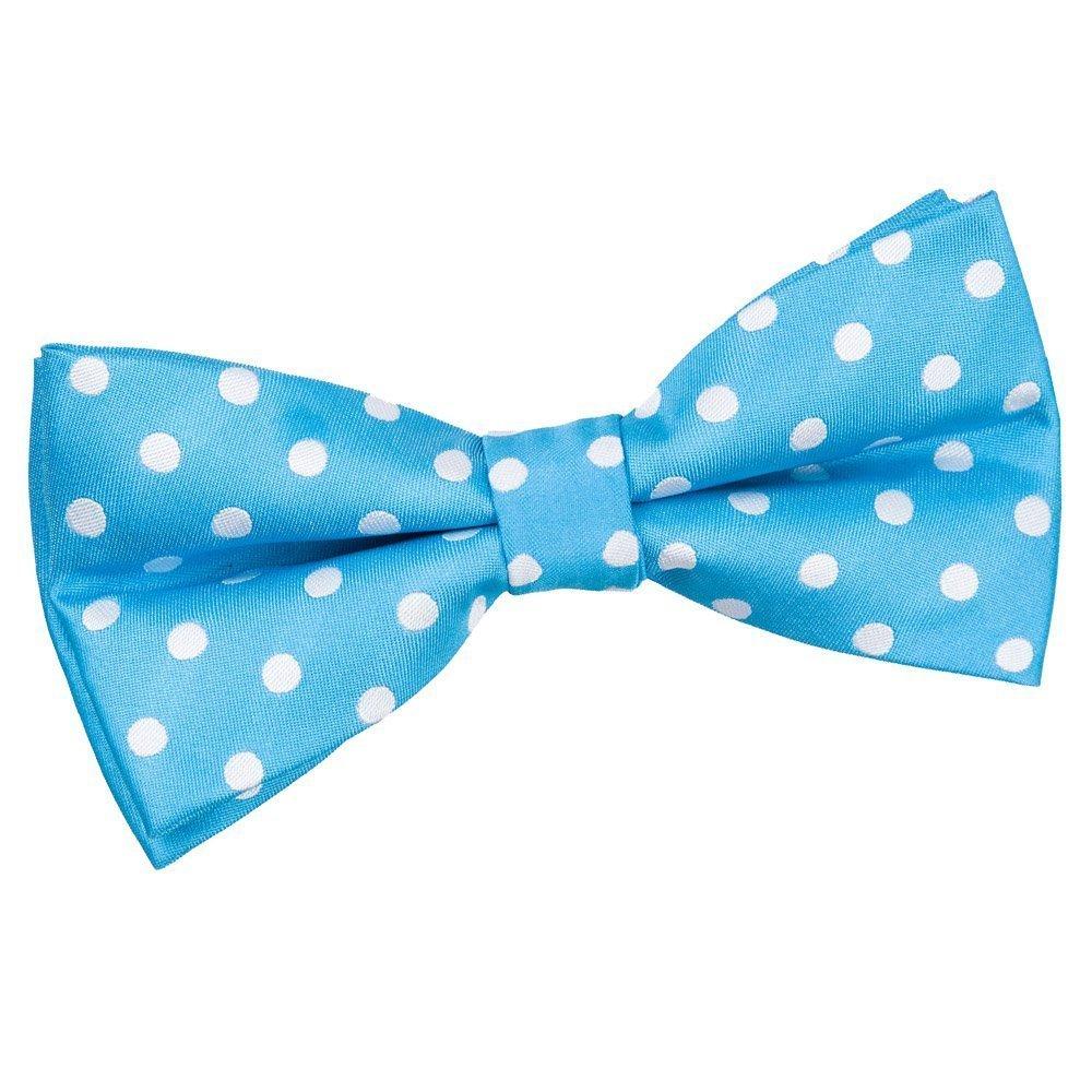 Men S Polka Dot Robins Egg Blue Bow Tie