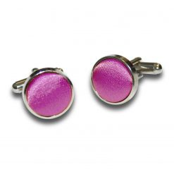 Mulberry Plain Satin Cufflinks