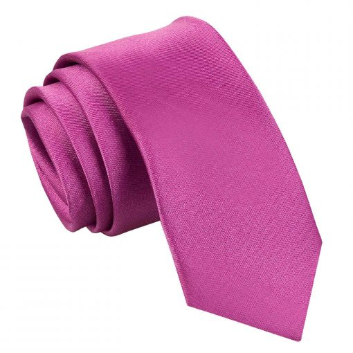 Mulberry Plain Satin Skinny Tie