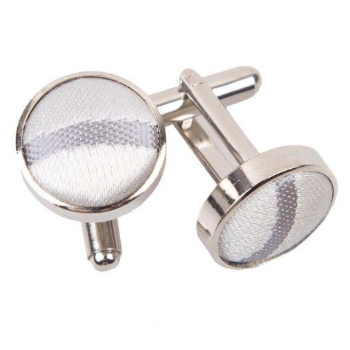 Silver Scroll Cufflinks