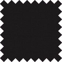 Black Plain Shantung Swatch