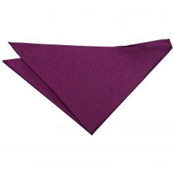 Orchid Plain Shantung Pocket Square