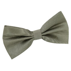 Sage Green Plain Shantung Pre-Tied Bow Tie