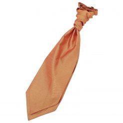 Turmeric Yellow Plain Shantung Pre-Tied Wedding Cravat