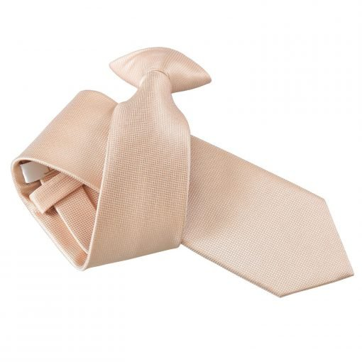Red Solid Check Clip On Slim Tie