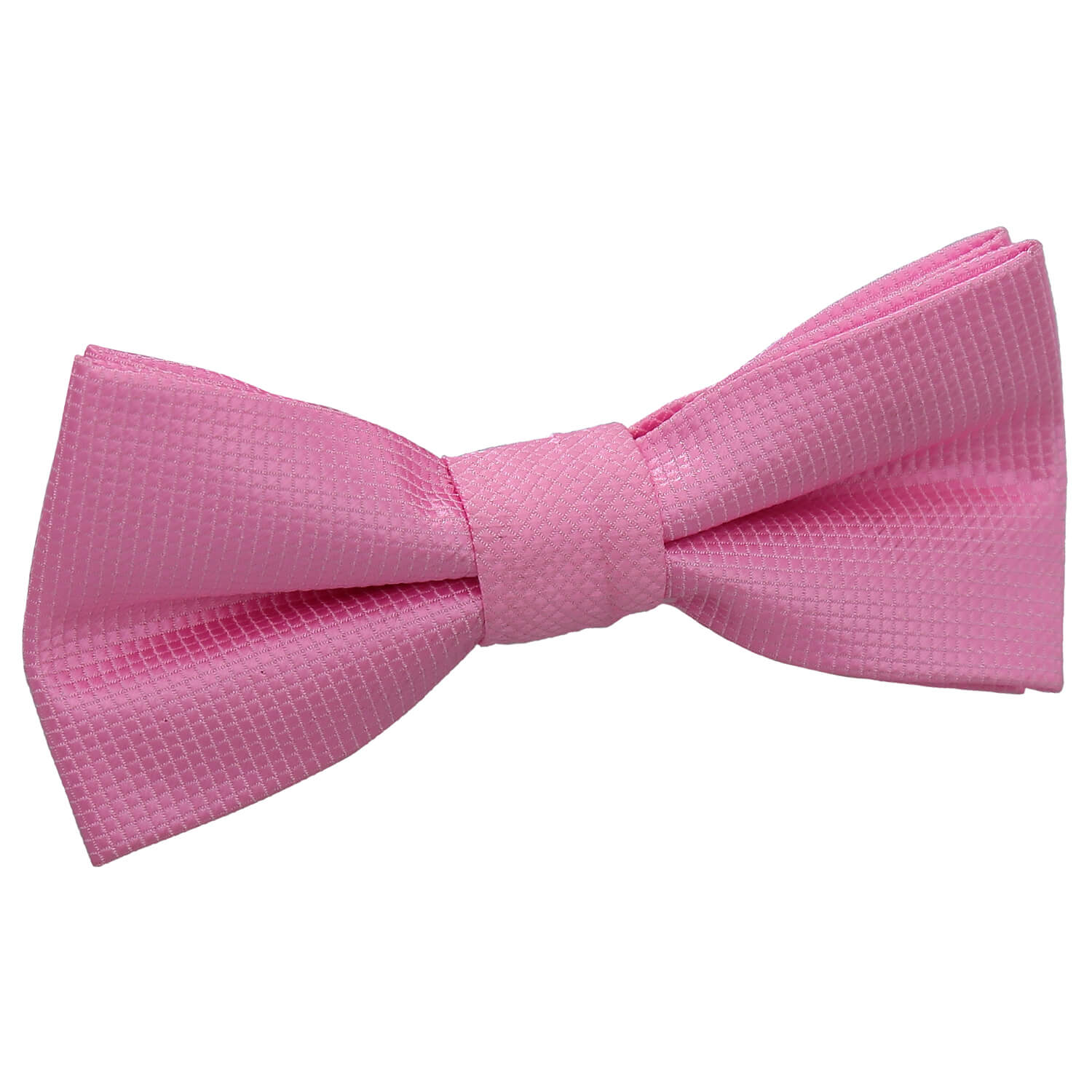boy s solid check light pink bow tie