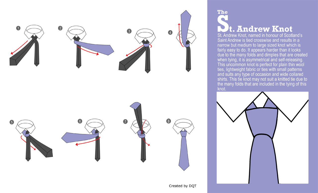 How To Tie a St. Andrew Knot