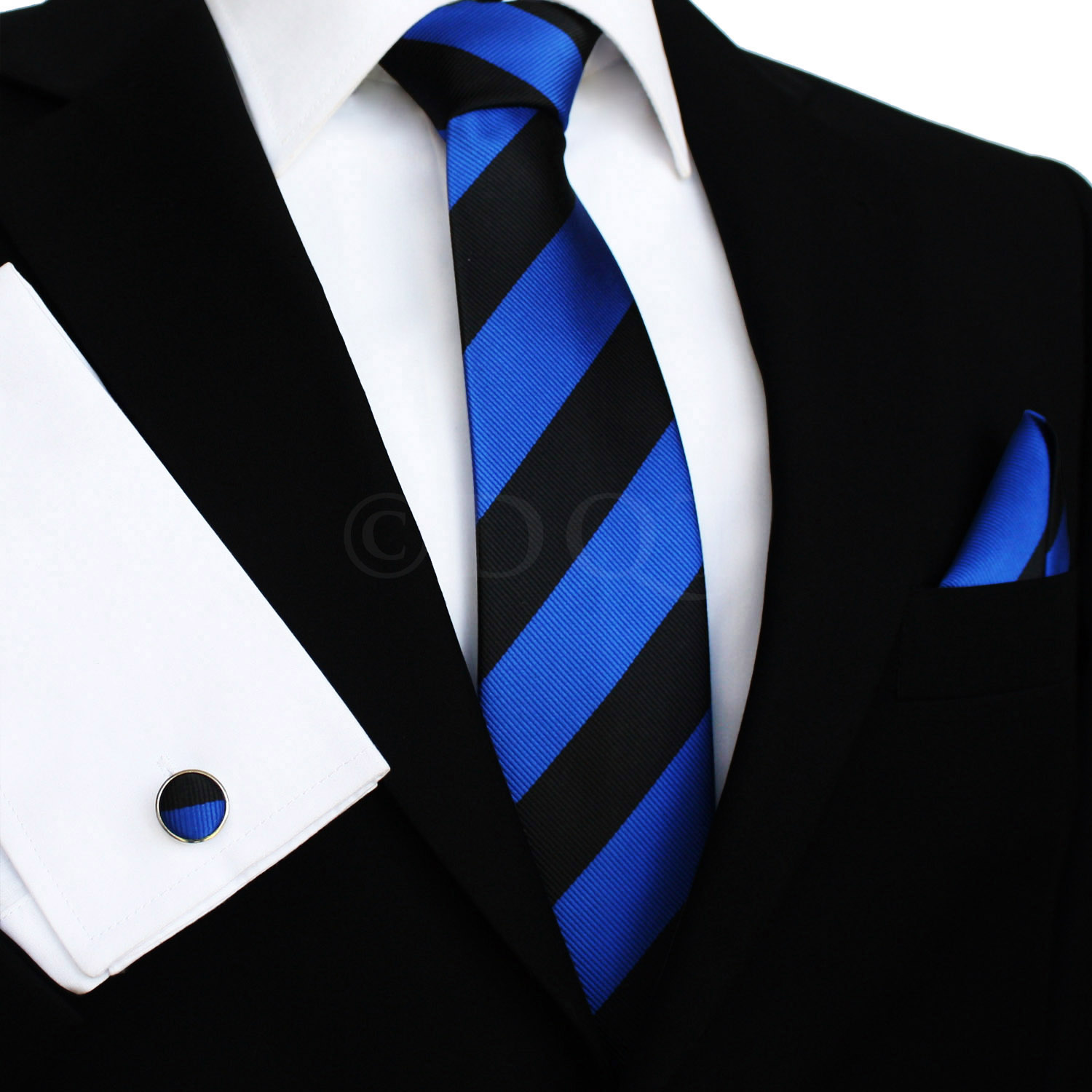 Royal Blue Suit For Men Black Suit Royal Blue Tie