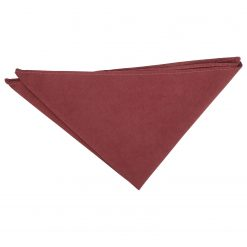Brown Suede Pocket Square