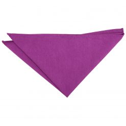 Orchid Suede Pocket Square