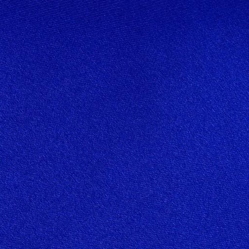 Royal Blue Plain Satin Swatch By Dqt
