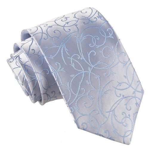 Baby Blue Swirl Classic Tie