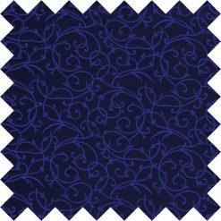 Black & Blue Swirl Swatch