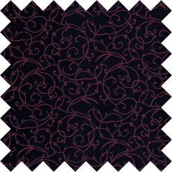 Black & Purple Swirl Swatch