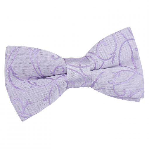 Black Swirl Pre-Tied Bow Tie for Boys