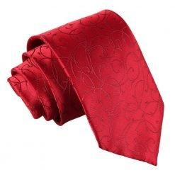 Burgundy Swirl Classic Tie
