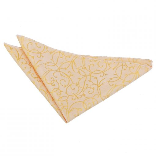 Silver Swirl Handkerchief / Pocket Square