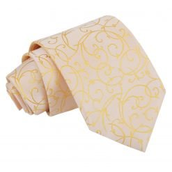 Gold Swirl Classic Tie