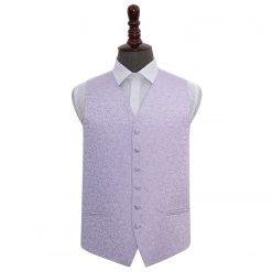 Lilac Swirl Wedding Waistcoat