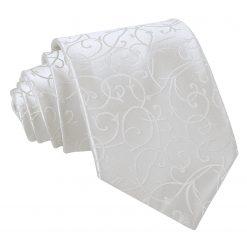 Ivory Swirl Classic Tie