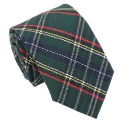 Green Tartan Plaid Modern Classic Tie