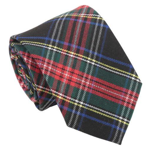Red and Green Tartan Plaid Modern Classic Tie