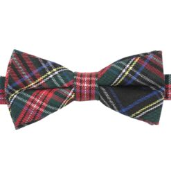 Red and Green Tartan Plaid Bow Tie