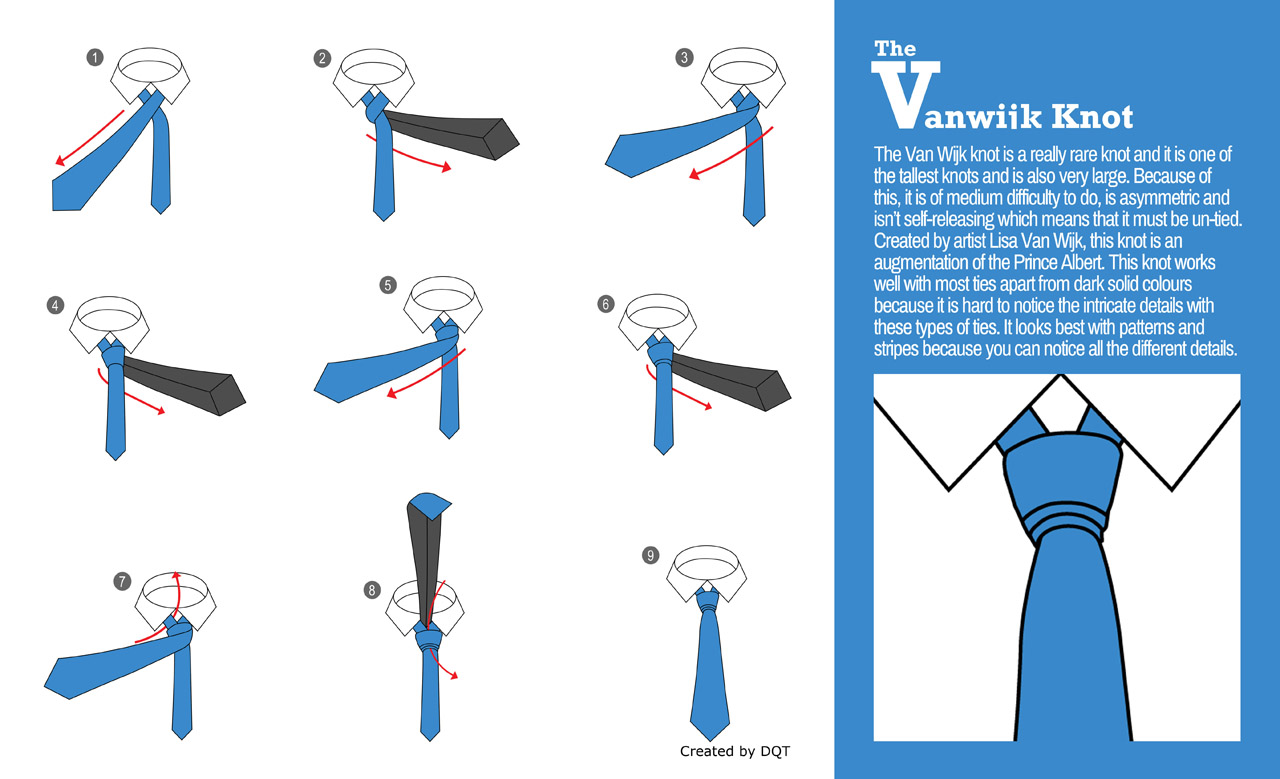How To Tie a Vanwijk Knot (6 of 21) by DQT